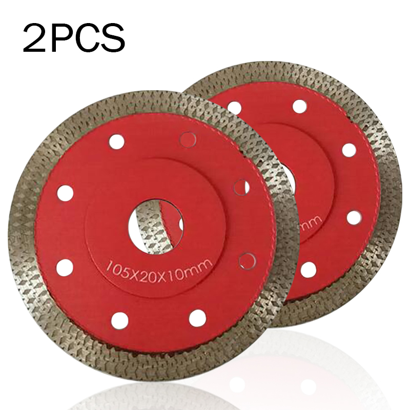 105mm Porcelain Tile Turbo Thin Diamond Dry Cutting Blade Disc Grinder Durable