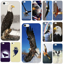 White Eagle Soft TPU Silicone Transparent Phone Cases Cover for iPhone 7 6 6s Plus X XR XS Max SE 4s 5 5s 5c Coque Shell(China)