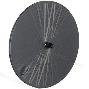 Супер светильник 1250 г задний клинчер 23 мм Широкий полный карбоновый диск колеса 700C карбоновый дорожный задний трек фиксированная Шестерня ...