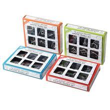 3D Металл 6 шт. головоломка игрушки обучающие материалы игрушка IQ ум головоломка для взрослых Детский подарок
