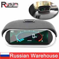 Tacómetro digital para coche, medidor automático LCD de 12V, 9999 rpm, para motor diésel, fueraborda, universal, RU