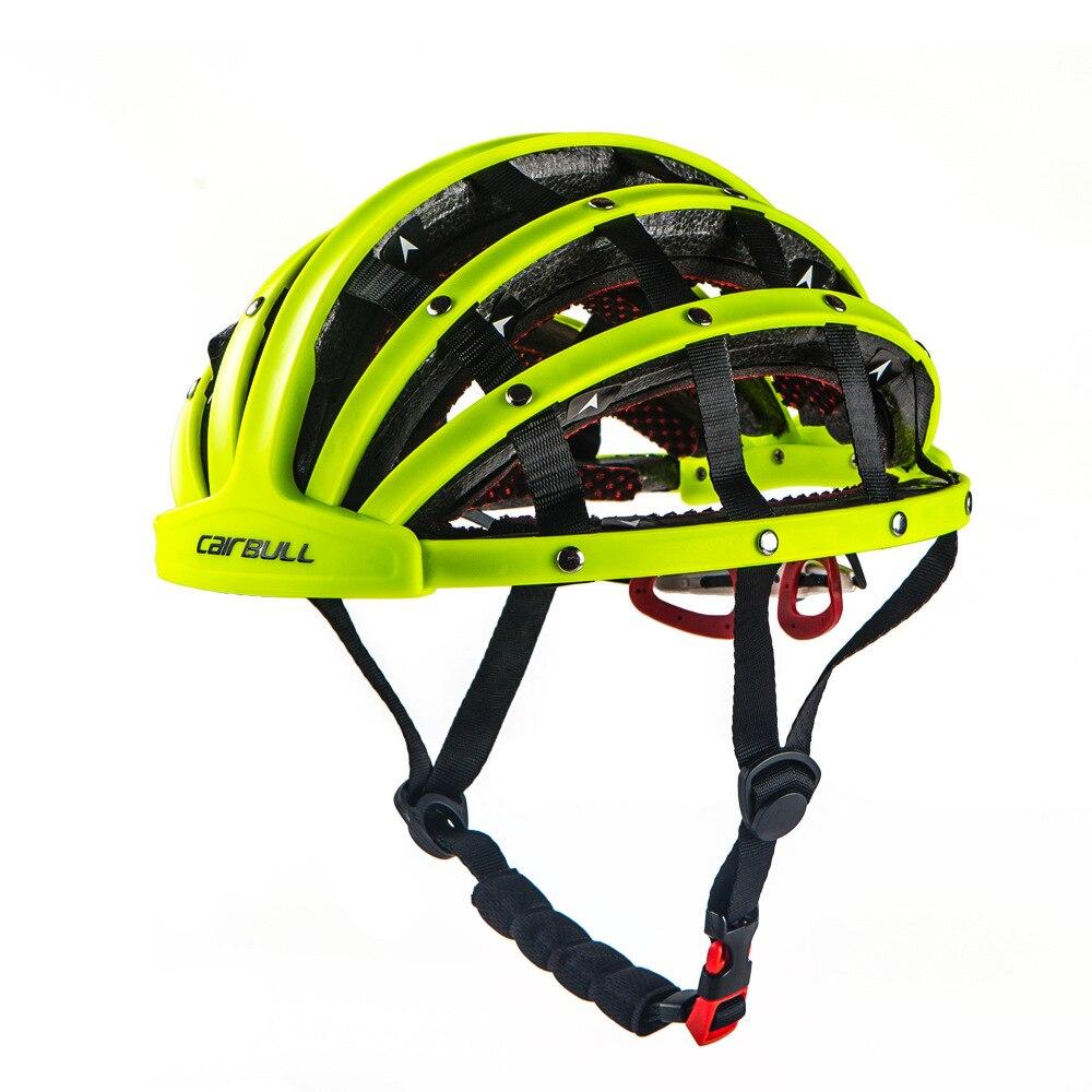 CAIRBULL 56 62 см 5 цветов велосипедный шлем для верховой езды складной дорожный велосипед городской Велоспорт PC + шлем EPS развлечения велотренаже