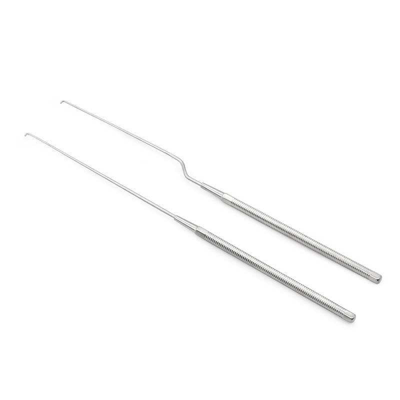 ENT Stainless Steel Instrument Tool Cerumen Hook Otic Straight Gun-type Hook