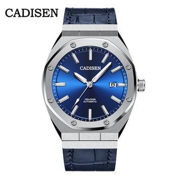 CADISEN 2020 Luxury AP ROYAL OAK Men Mechanical Wristwatch Stainless Steel Watch Top Brand 100M Waterproof Watches Reloj Hombre