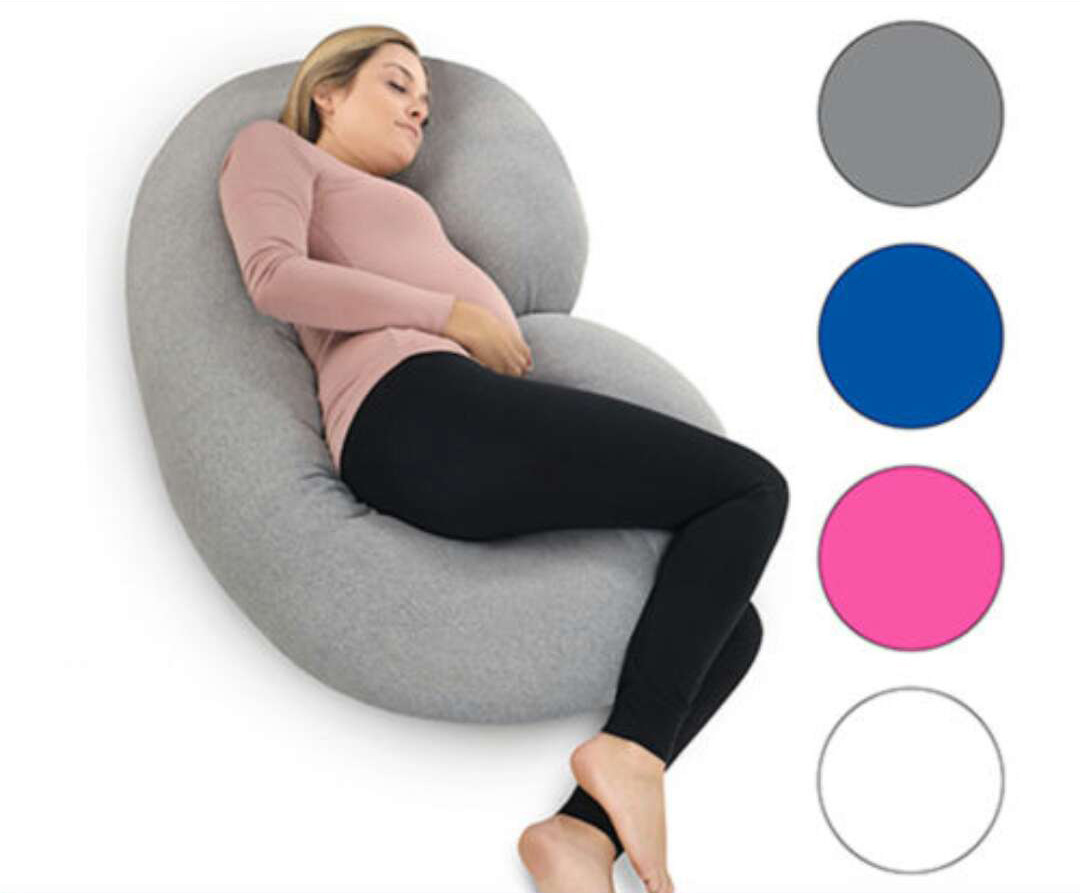 Pregnant Woman Pillow Side Lying Pillow Pure Cotton Multifunctional U-type Nap Pillow Cushion Removable C-type Maternity Pillow
