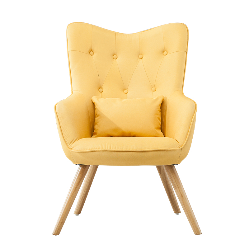 Nordic rocking chair sofa recliner   elderly  bedroom balcony lounge  siesta happy lazy
