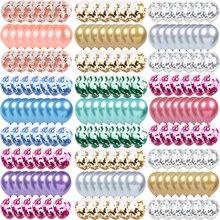 20/10 шт. металлические латексные воздушные шары, воздушный шар «Конфетти», свадебные вечерние шары на день рождения для детей, вечерние возду...