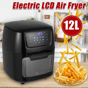 12L Air Fryer 1800W Electric Digital Airfryer Rotisserie Dry Cooker Window Display Baking French Fries Cooking Appliances 1