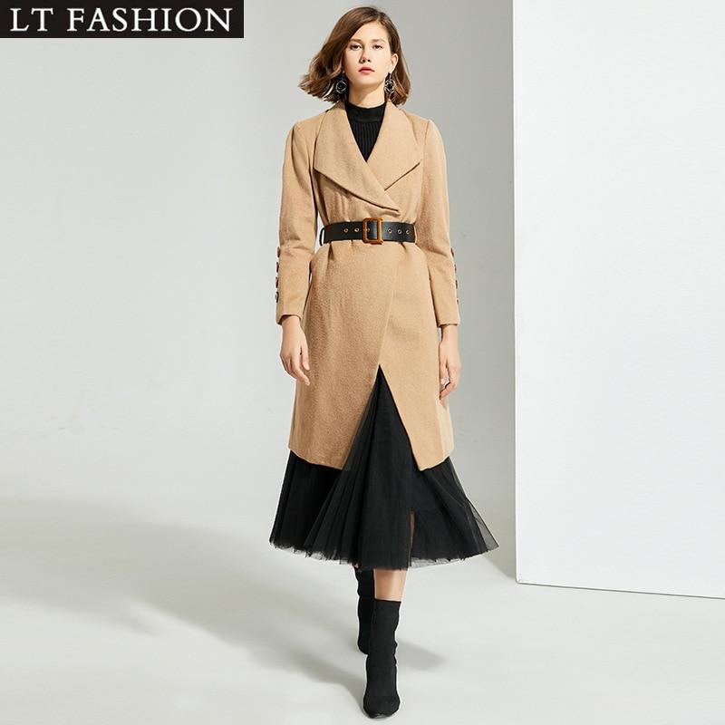 Berly Boutique, Женское шерстяное пальто, одноцветное, с длинным рукавом, ветровка, Женское шерстяное пальто, пальто