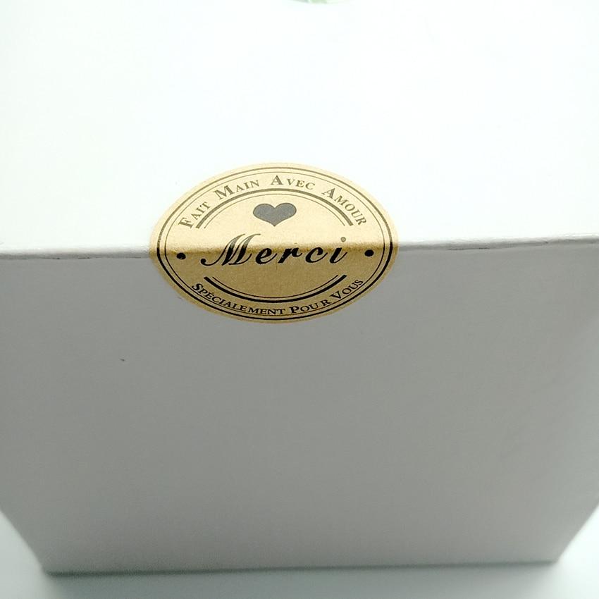 redondo adesivo selo adesivos diy presentes pacote 02