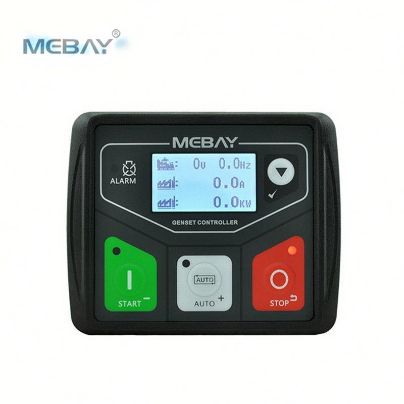 mebay dc30d modulo de controle gerador painel controlador de genset diesel pequeno usb programavel conexao pc
