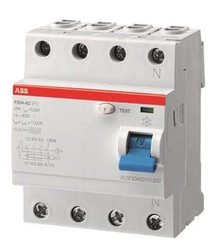 ABB off dif current 2 mod. F202 B-16/0,03 2CSF202592R1160