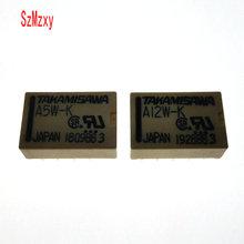 1PCS signal relay A5W-K A-5W-K A12W-K A-12W-K A24W-K A-24W-K DIP10 TAKAMISAWA