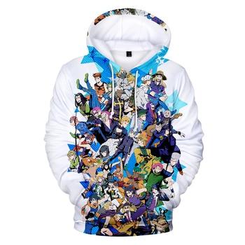 2020 Autumn 3D Print JoJo's Bizarre Adventure Hoodies Sweatshirts Men Women Hoodies Fashion Suitable JoJo Pullovers Clothes