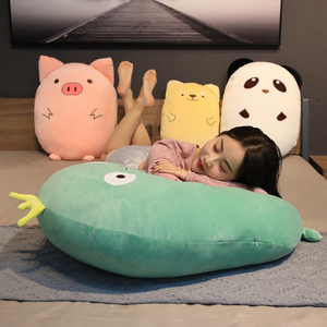 50/70CM Soft Animal Cartoon Pillow Cushion Fat Dog Cat Koala Pig Frog Plush Toy Stuffed Lovely Kids Birthyday Gift Sofa Pillow