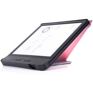 Image 5 - Умный чехол BOZHUORUI для чтения электронных книг Kobo Forma 8 дюймов, многоугольный чехол подставка Премиум из искусственной кожи с функцией автоматического сна/пробуждения