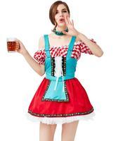 2019 New German Traditional Oktoberfest Beer Girl Costume Dress
