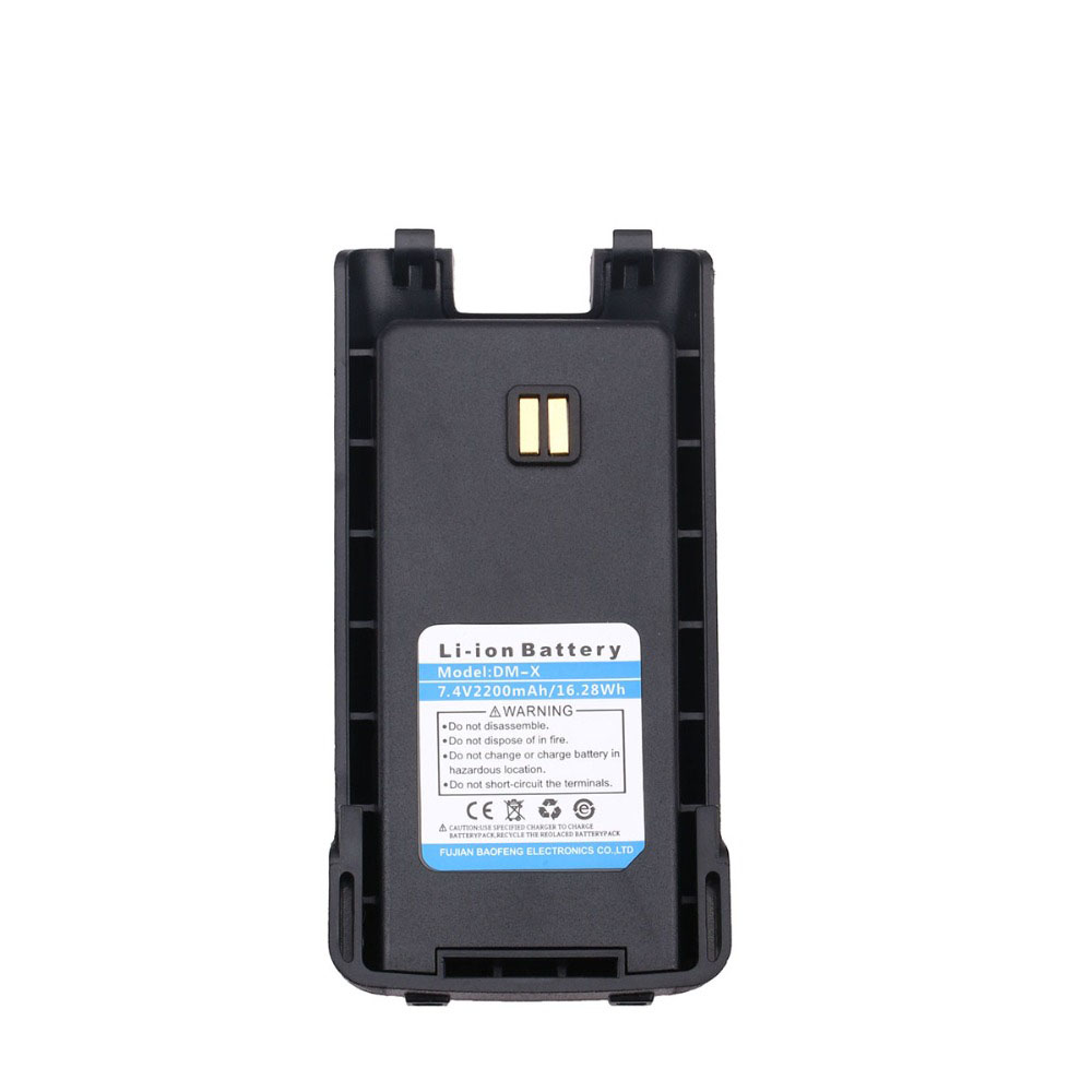 Original DM-X Battery 7.4V 2200 MAh Li-Ion Battery For Baofeng DM-X GPS DMR Digitale Analogico Walkie Talkie