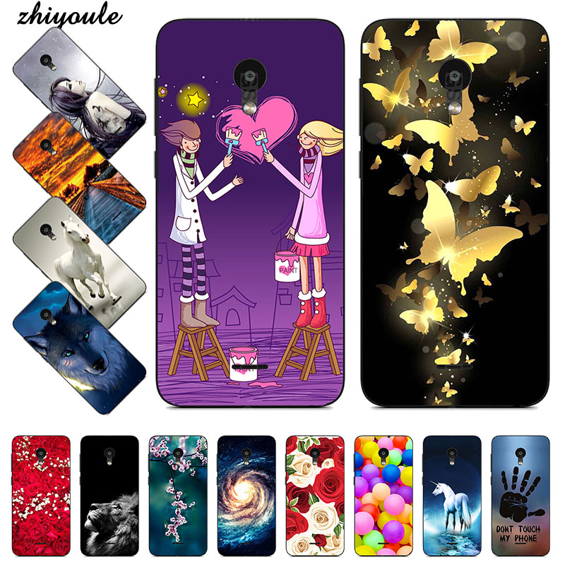 TPU Soft Print Phone Case for <font><b>Meizu</b></font> <font><b>C9</b></font> / <font><b>C9</b></font> <font><b>Pro</b></font> / M9C Soft Silicone Back Cover Case Painted Pattern Shells Capa image