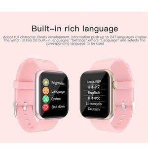 Image 4 - Greentiger P9 חכם שעון מלא מגע Custom חיוג משחק קצב לב לחץ דם חמצן צג IP67 עמיד למים Smartwatch PK P8