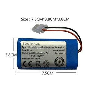 Image 2 - Wysokiej jakości 14.8V 2800mAh/3200mAH akumulator Chuwi akumulator do baterii ILIFE ecovacs A4S V7s A6 V7s pro Chuwi iLife