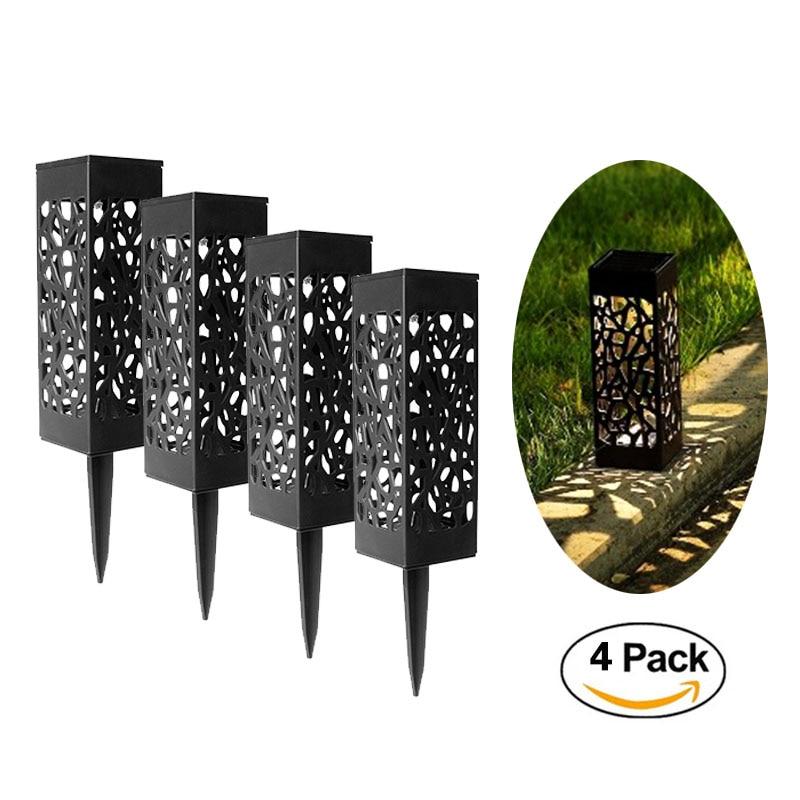 4/8Pcs Led Solar Light Lawn Disk Lamp Stainless Steel Sensor Sunlight Waterproof Buried Light Garden Pathway Bulb Decoration
