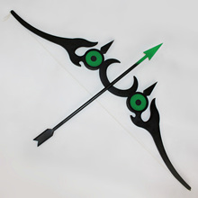 Seraph of the end Yoichi Saotome Weapons Bow and Arrow Cosplay Props seraph of the end yoichi saotome cosplay wig short boy male pixie cut wigs dark brown party dancy hair perruque peluca hombre href