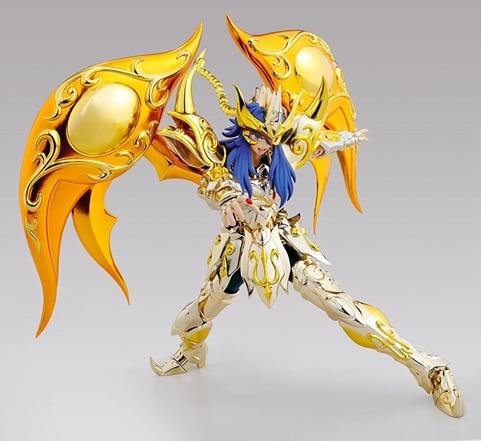 GT Great T Saint Seiya Cloth Myth EX Soul Of Gold Dod Scorpio Milo Models Metal Cloth Action Figure S15 1