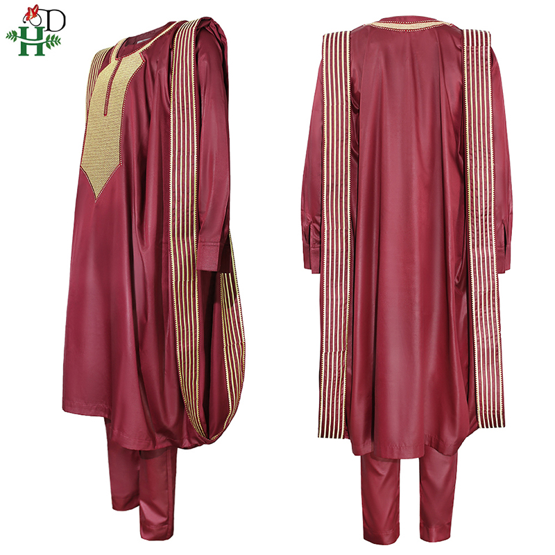 African Agbada Suit For Men 3