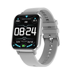 Inteligentny zegarek DTX duży ekran 1.78 cala IP68 ekg SmartWatch Android tryb wielu sportów ciśnienie krwi Relojes tętno pk iwo