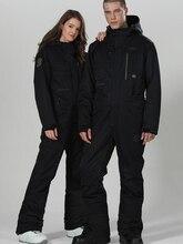Terno de esqui das mulheres terno de inverno das mulheres terno de snowboard dos homens macacão de esqui de uma peça jaqueta de esqui