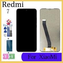 Xiaomi Redmi için 7 LCD ekran test AAA Lcd ekran + dokunmatik ekran değiştirme için çerçeve ile Xiaomi Redmi 7 m1810F6LG