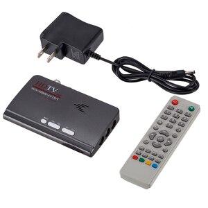 DVB-T DVB-T2 ТВ-тюнер ресивер DVB T/T2 ТВ-приставка VGA AV CVBS 1080P HDMI Цифровой HD спутниковый ресивер с пультом дистанционного управления