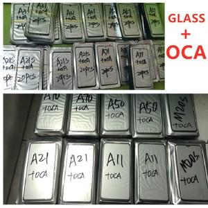 Image 3 - 5pcs Glass With OCA For HUAWEI P9 P10 Lite / P20 Pro /P30 P40 lite /P Smart Plus/ Psmart Z 2018 2019 Damaged Touch Screen Repair