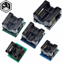 SOP16 to DIP8 Wide-body Seat Wide 150mil 200mil 208mil 209mil 300mil Programmer SOP8 Adapter Socket for EZP2010 EZP2013 CH341A