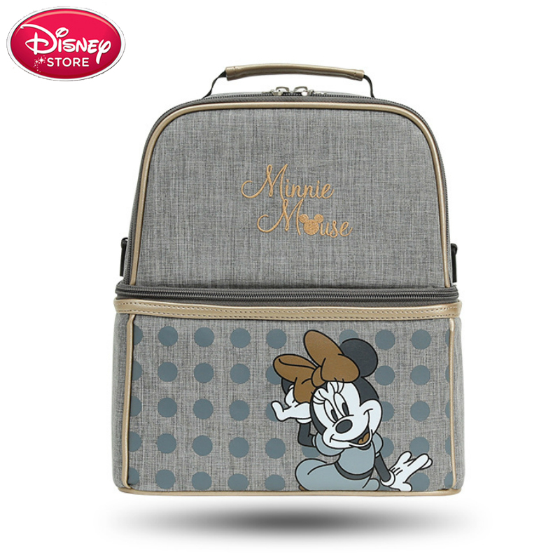 2019 New Disney Bags And Insulation Bottle Waterproof Nappy Bag Mummy Bags For Baby Care Travel Nursing Handbag