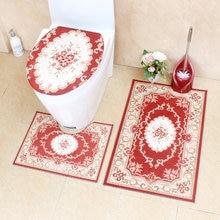 Европейский классический стиль набор ковриков для ванной комнаты