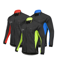 Men Winter Cycling Jacket Bicycle Thermal Fleece Coat Windbreaker Warm Windproof MTB Jersey Bike Clothes Outdoor Sports Clothing