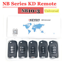 KEYDIY KD zdalny klucz NB10 uniwersalny wielofunkcyjny pilot Kd900 3 przycisk klucz serii NB dla KD900 URG200 Remote Master