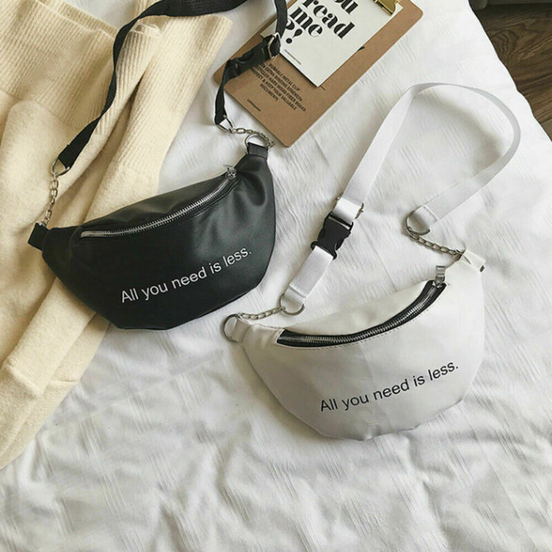 Fashion Women Waist Fanny Pack Belt Bag Travel Hip Bum Bag Small Purse Chest Pouch NEW