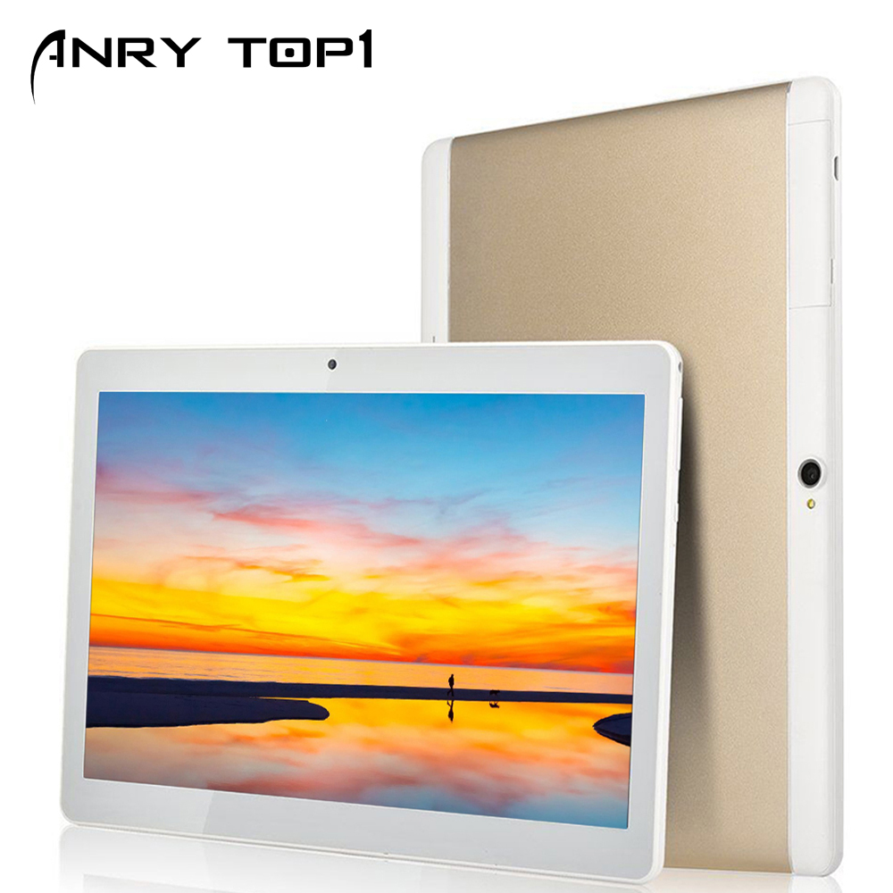 New 2019 10 Inch Tablet Android 7.0 Quad Core 4 GB RAM 32 GB ROM Quad Cores IPS GPS Tablets Gifts Wifi Bluetooth