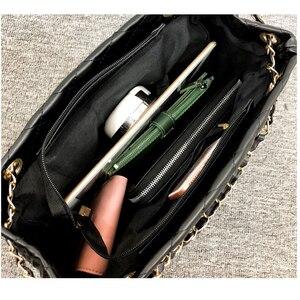 Image 5 - BelaBolso fil sacs à bandoulière grande capacité sacs à poignée supérieure pour les femmes chaîne sacs à main en cuir PU femmes sac de luxe femme HMB654