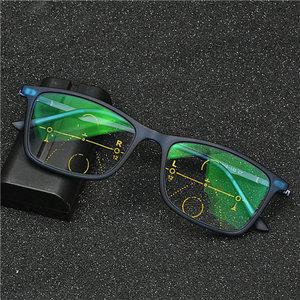 Image 1 - ハイエンド累進多焦点老眼鏡遠近両用読書眼鏡女性フォトクロミックガラス老眼鏡nx