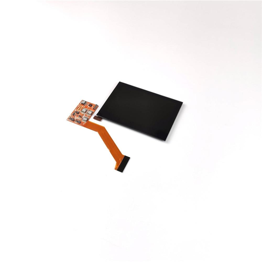 Mettre en évidence l'écran LCD IPS pour les pièces de réparation de la Console de jeu GBA SP à 5 niveaux de luminosité réglable