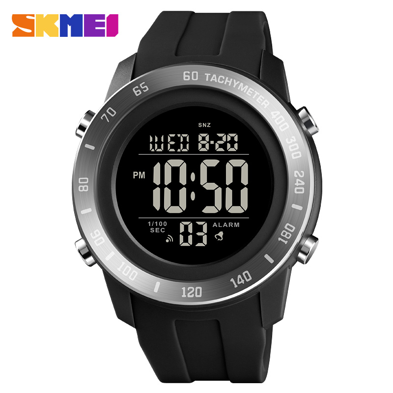 Men Sport Mlitary Watch Top Brand SKMEI Fashion Electronic Watch Count Down Stopwatch Sports Watches Men Bracelet Alarm Clock