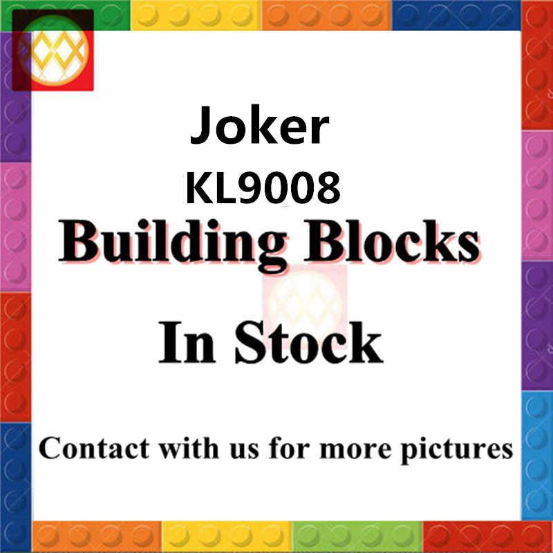 Wm única venda kl051 assassino croc com arma tommy dc super heróis filme batman 7780 tijolos diy brinquedos crianças kl9008
