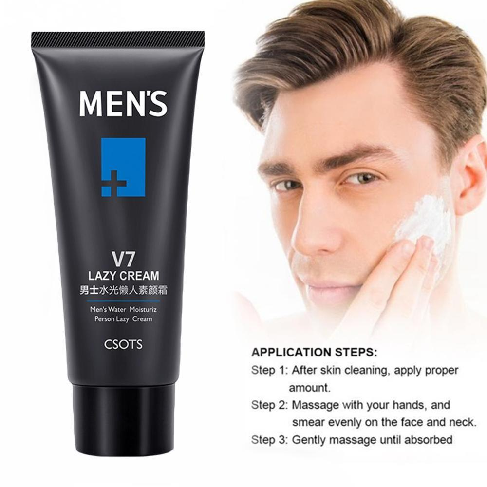 Shrink Pore Refreshing Formulation Skin Care Product Men Moisturizing Face Cream Oil Control makeup foundation for men image