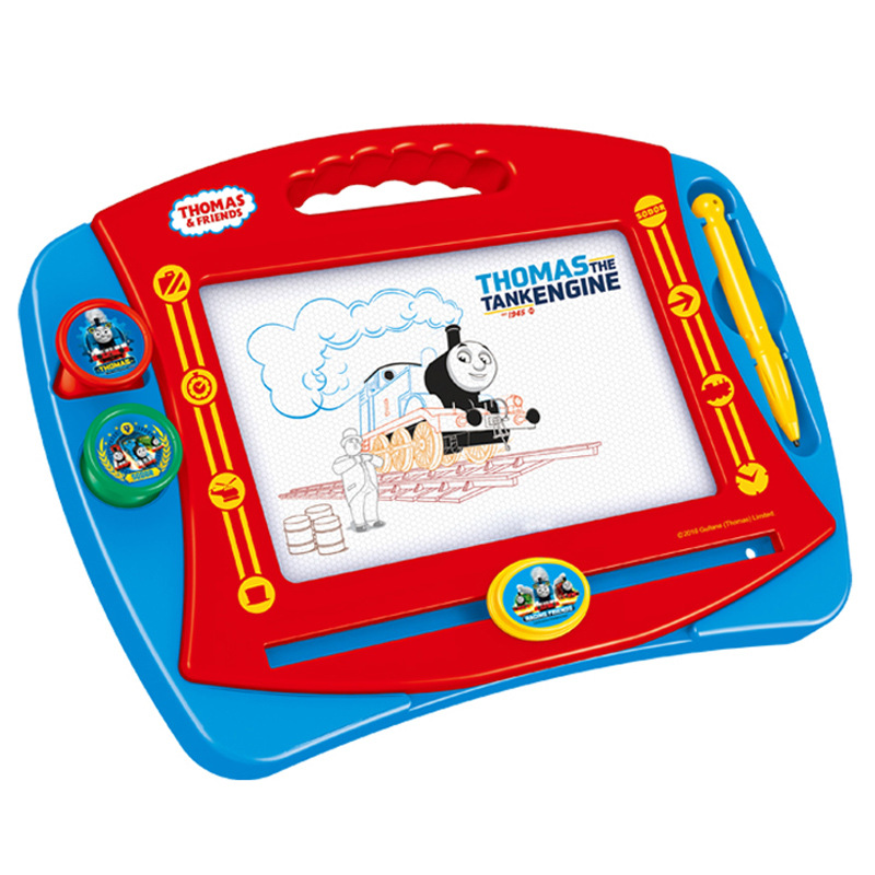 Thomas Children Drawing Board Magnetic Drawing Board WordPad A Rub And White Doodle Board Small Color Baby Toy