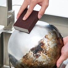 4Pcs Silicon hartmetall Melamin Schwamm Magie Schwamm Radiergummi Melamin Reiniger für Küche Büro Bad Reinigung Nano Schwämme