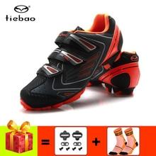 цена на TIEBAO men women cycling sneakers mountain bike shoes add bike cleat sapatilha ciclismo mtb breathable outdoor mtb cycling shoes